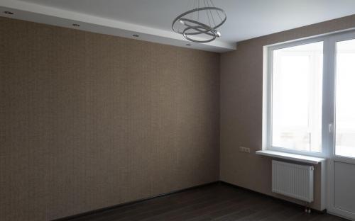 Ремонт квартиры на ВО. Спальня.